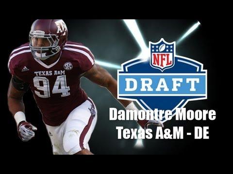 Damontre Moore - 2013 NFL Draft Profile