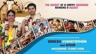 Ganesh Venkatraman and Nisha Wedding Function | Aravind Swamy, Jayam Ravi | Marriage Reception