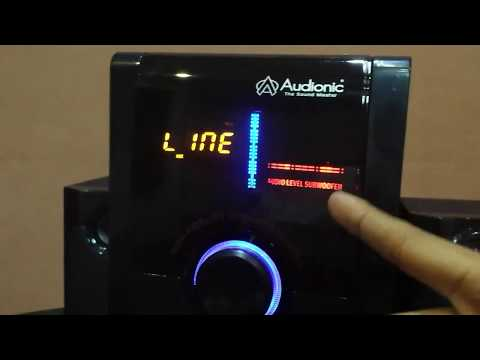 Audionic - Max-550 BT - Plus Speakers Unboxing and Review