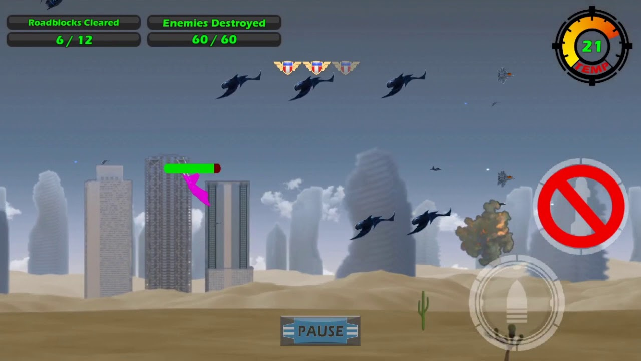 Watch Game Play for Level 10 - Download Raptor Defense