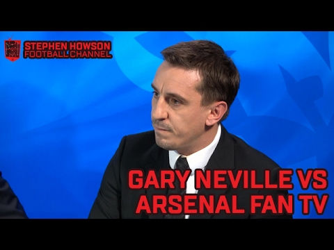 Gary Neville v Arsenal Fan TV | Snapchat Q&A