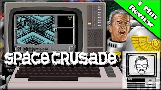Space Crusade - Commodore 64 [1 Minute Review] | Nostalgia Nerd