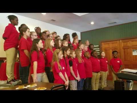 5th grade Screven County Elementary school chorus