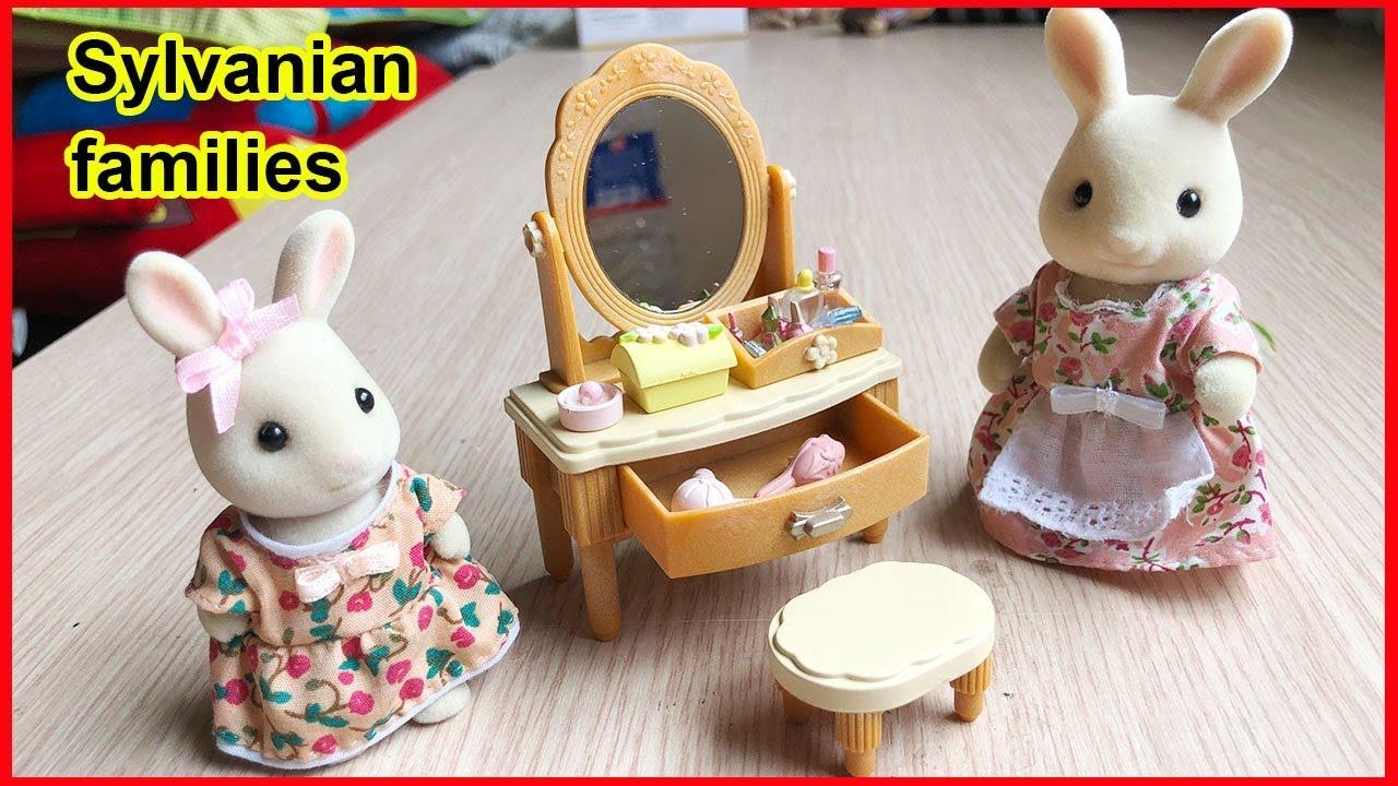 Đồ chơi gia đình thỏ Sylvanian families – Bàn trang điểm xinh đẹp – Sylvanian toys (Chim Xinh)