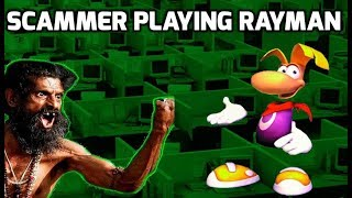 Scammer playing Rayman on my computer thumbnail