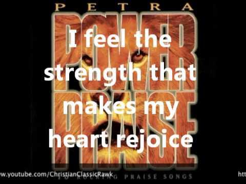 You are my Rock lyrics in English - Petra