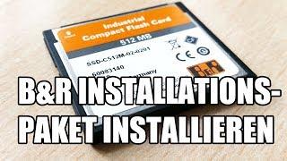 B&R Runtime Utility Center - Installationspaket installieren