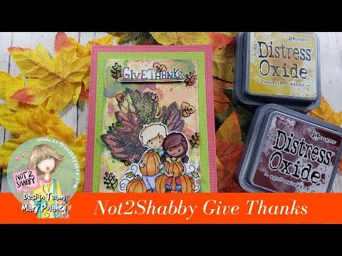 Not2Shabby Give Thanks Fun Fall Card