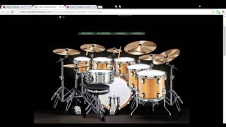 jorge e mateus se eu chorar virtual drumming