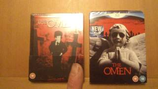 THE OMEN,  two blu-ray edition