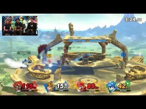 Masahiro Sakurai Plays Smash Ultimate as Link