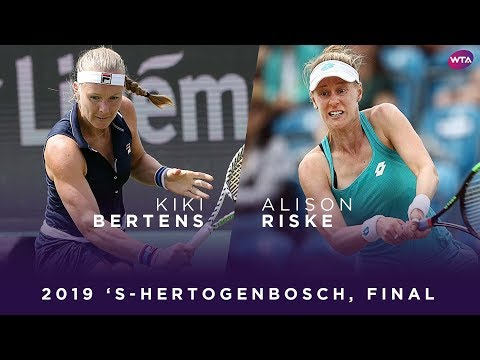 WTA Den Bosch final | Kiki Bertens vs. Alison Riske | Highlights