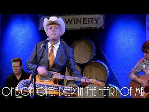 ONE ON ONE: Junior Brown - Deep In The Heart Of Me August 11th, 2016 City Winery New York