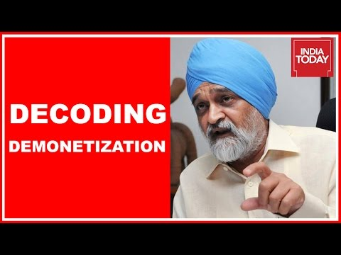 To The Point : Montek Singh Ahluwalia Interview On Impact Of Demonetization