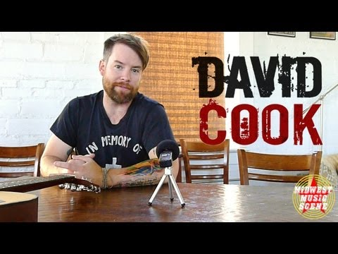 DAVID COOK interview in Tulsa, OK