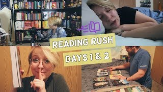 Surprise Mail, Upending Reading Plans, & General Chaos | Reading Rush Day 1 & 2