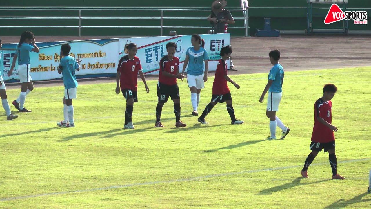 Asean University Games Women S Football Thailand Vs