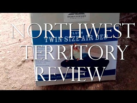 Northwest territory plush twin air bed review