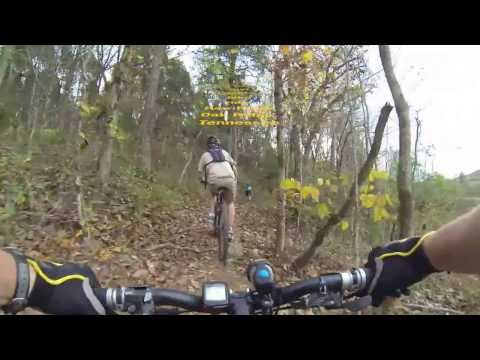 Don Bible's first ride at Haw Ridge, November 6th, 2013 Travel Video