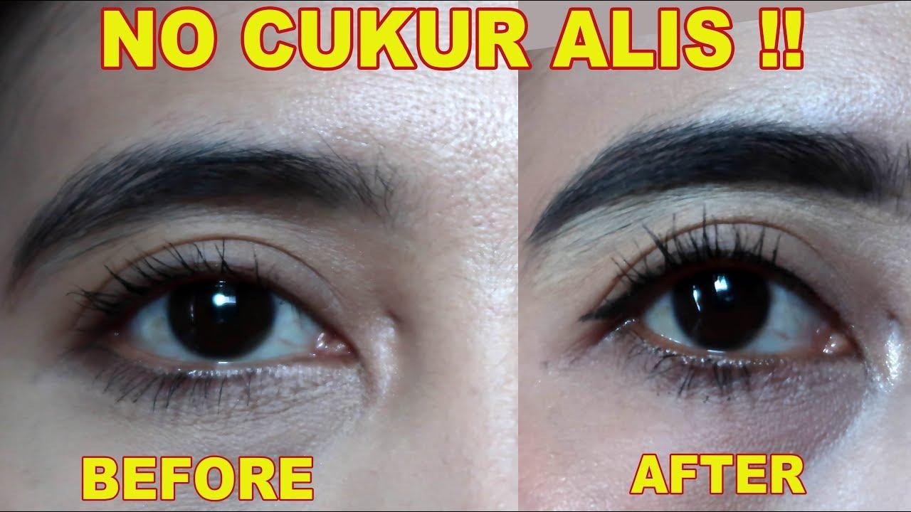 Alis Online Tutorials Eyebrow Template Cetakan Mata