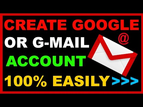 How to Create Google/GMail  Account Easily