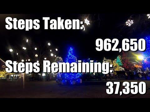 Walking 1 Million Steps in 1 Month Challenge Day 26