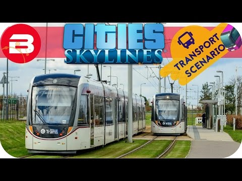 Cities Skylines Gameplay - TRAMS FOR TOURISTS (Cities: Skylines TRANSPORT Scenario) #8
