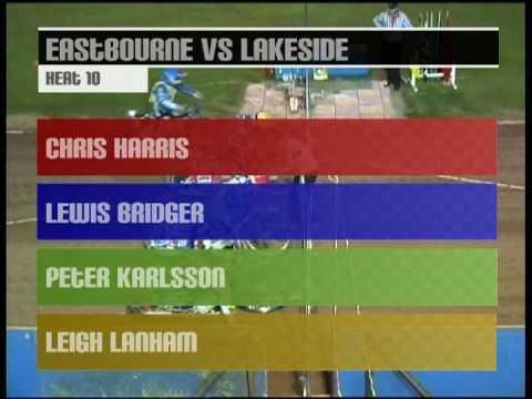 2007 Elite League Speedway: Eastbourne Eagles Vs Lakeside Hammers - Heat 10