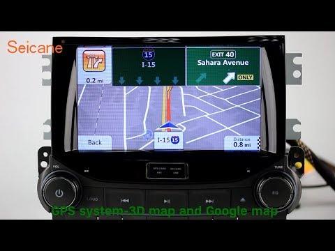 OEM 2012 Chevy Chevrolet MALIBU Radio DVD GPS Stereo Removal Support 3G 4G WIFI