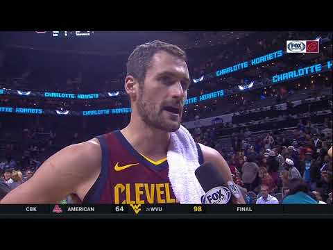 Kevin Love reluctantly talks up Channing Frye after Cleveland Cavaliers win: