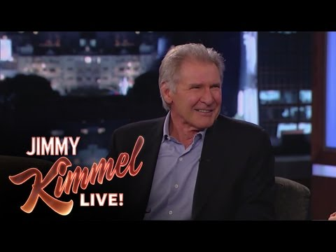Chewbacca Crashes Harrison Ford's Kimmel Interview (VIDEO)