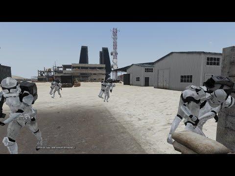 Sorensic Streams: Arma 3 Star Wars Shiny Final Test 14 CRs! NEW TEST ARENA - 동영상