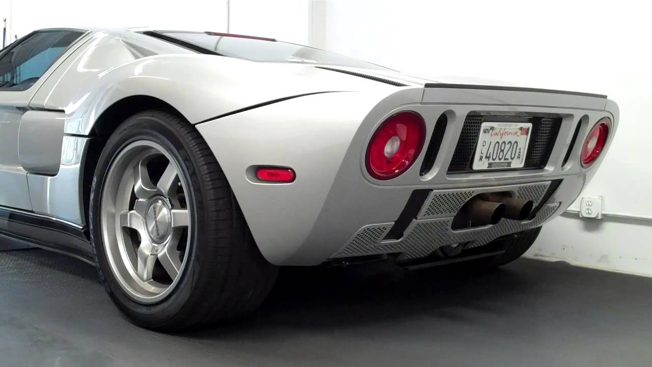Ford Gt With Accufab Exhaust
