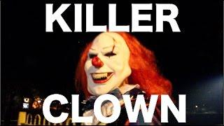 KILLER CLOWN IN HACKNEY #HALLOWEENPARTY