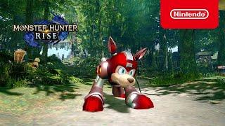 Monster Hunter Rise - Mega Man Collab - Nintendo Switch