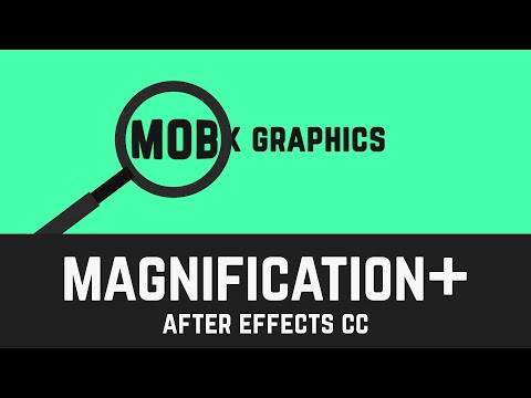 Easy Magnification Effect Tutorial in After Effects - T012