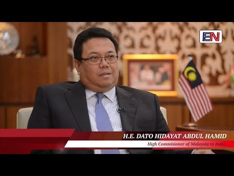 Interview of Malaysian High Commissioner to India by Embassynews.tv. EN TV