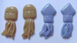 Coris #9 - Octopus and Squid Shaped Candy Kit タコでゲソ Thumbnail