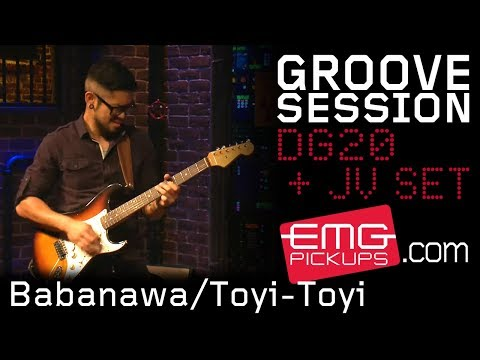 "GrooveSession plays, ""Babanawa/Toyi-Toyi (Protest Dancer)"" on EMGtv"