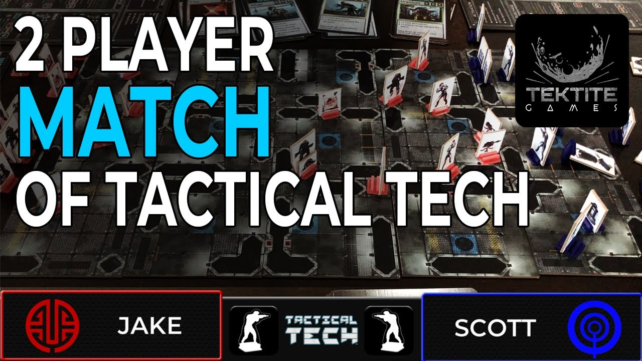 2 Player MATCH of Tactical Tech Board Game