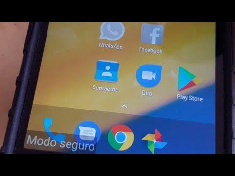 Celular en Modo Seguro Motorola Moto C Plus