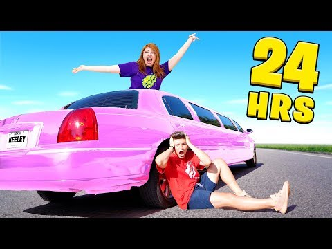 I Said Yes to My Little Sister for 24 Hours! - Challenge