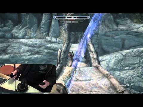 Skyrim Razer Hydra Gameplay