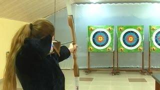 Дети в Хасавюрте соревновались в стрельбе из лука