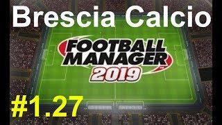 🔴Football manager 2019_ Brescia Calcio.Serie A⚽ Версия #1.27