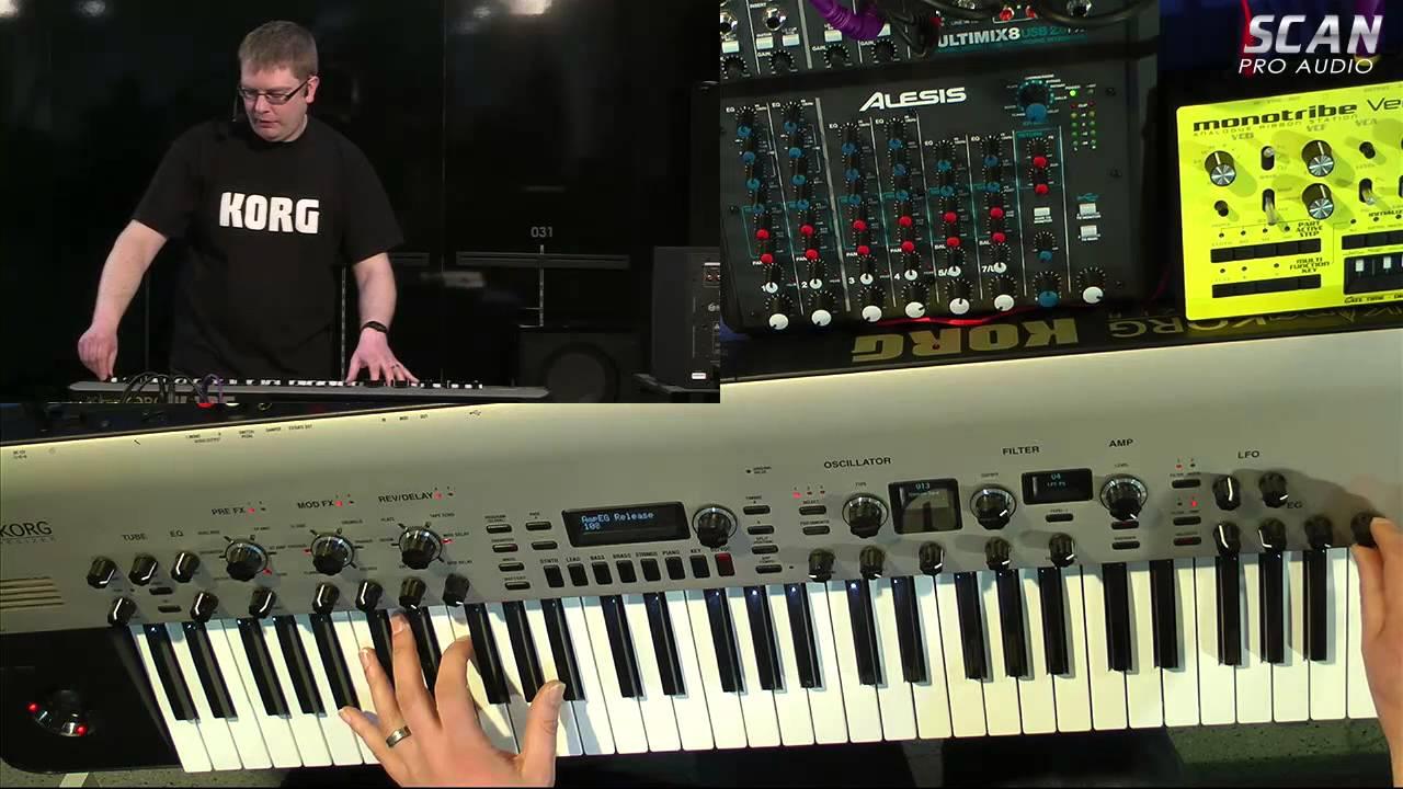 KingKORG - In Depth Demonstration - Pro Audio ScanCast 001 Part 2