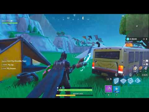 My FIRST Youtube video/Fortnite map creation.