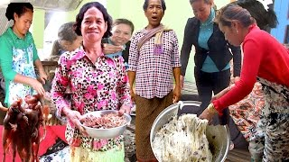 Travel to Hometown in Kampong Speu Province | Family Gathering for Good Luck