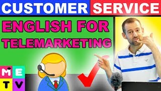 ENGLISH FOR TELEMARKETING - 5 TIPS!