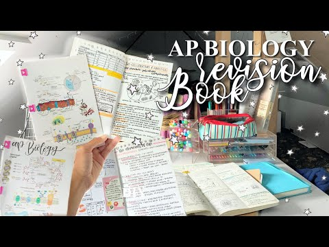 How I Made My Own Revision Book (ap Biology Edition)